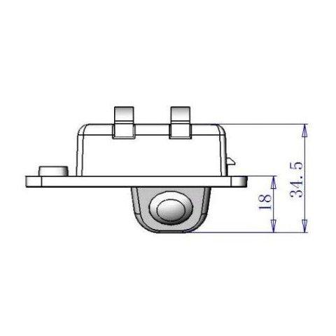 Автомобильная камера заднего вида для Audi Q7 Превью 3