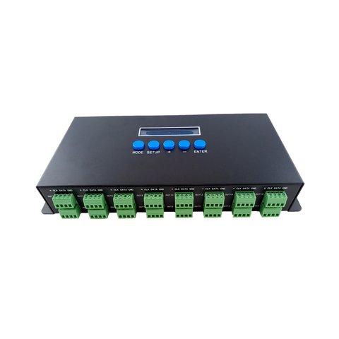 Світловий Ethernet-SPI/DMX512-контролер BC-216 (16 канали, 340 пкс, 5-24 В) Прев'ю 1