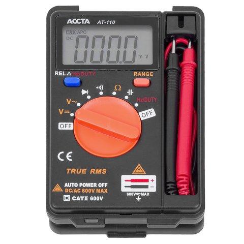 Кишеньковий цифровий мультиметр Accta AT-110 Прев'ю 5