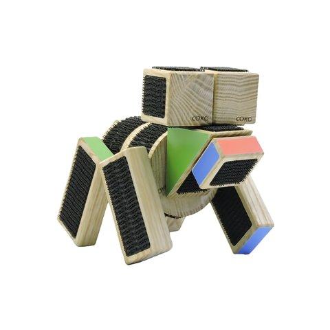 Конструктор COKO Строительные кубики 14 Превью 12
