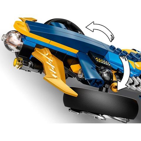 Конструктор LEGO NINJAGO Спидер-амфибия ниндзя 71752 Превью 7