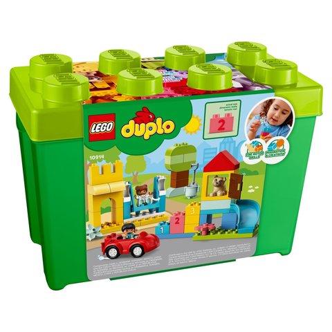 Конструктор LEGO DUPLO Коробка з кубиками Deluxe 10914 Прев'ю 2