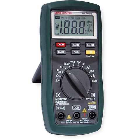 Digital Multimeter MASTECH MS8221C Preview 2